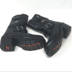 Harley Davidson Leather motorcycle boots 6.5